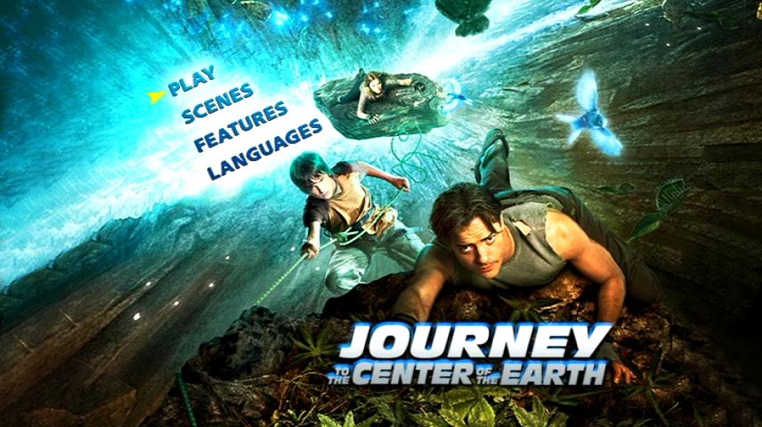 Journey To The Center Of The Earth 2008 Dvd Menu