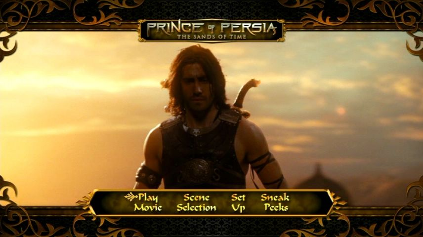 Prince Of Persia The Sands Of Time 2010 Dvd Menu