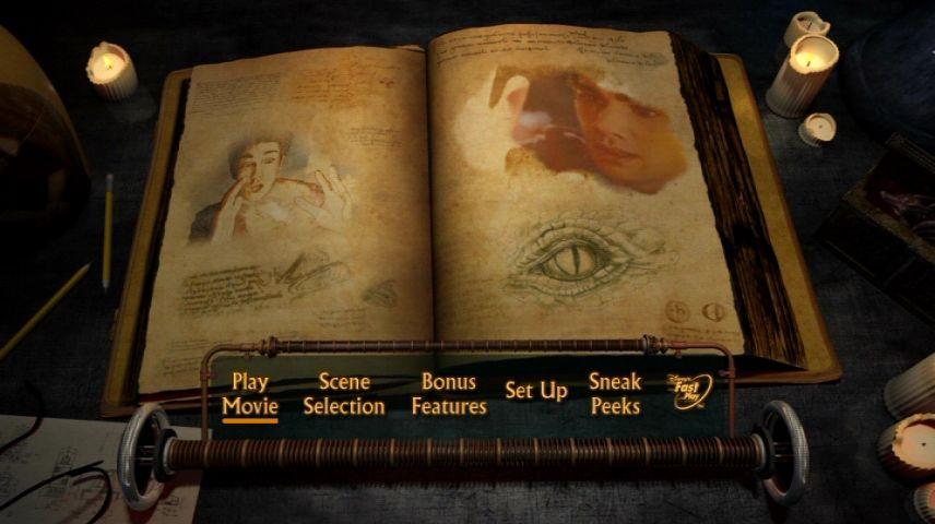 The Sorcerer S Apprentice 2010 Dvd Menu