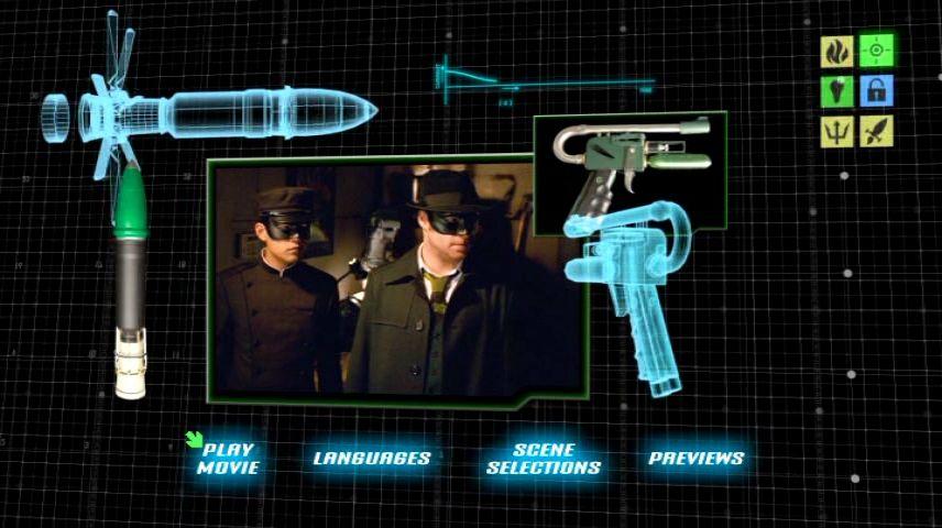 The Green Hornet 2011 Dvd Menu