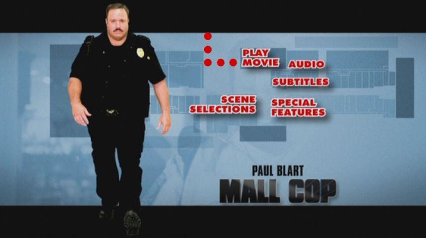 Paul Blart Mall Cop 2009 Dvd Menu