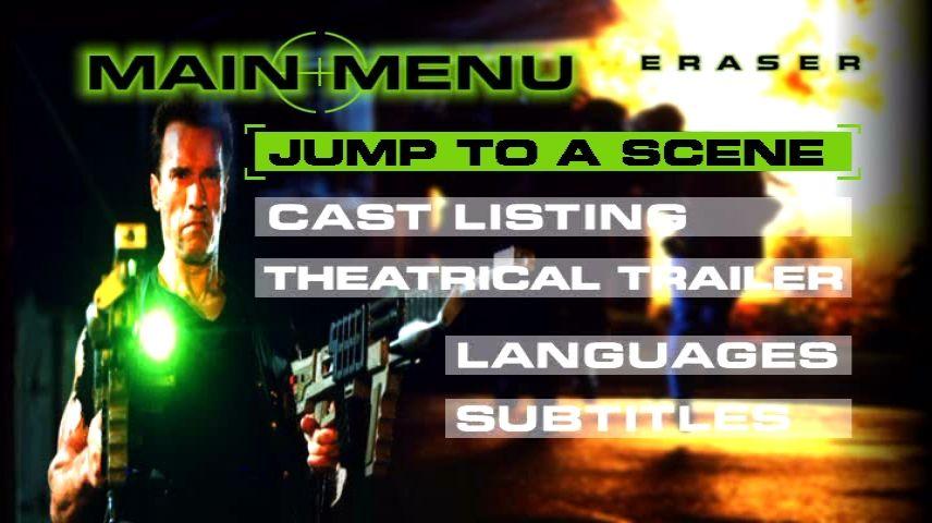 Eraser 1996 Dvd Menu