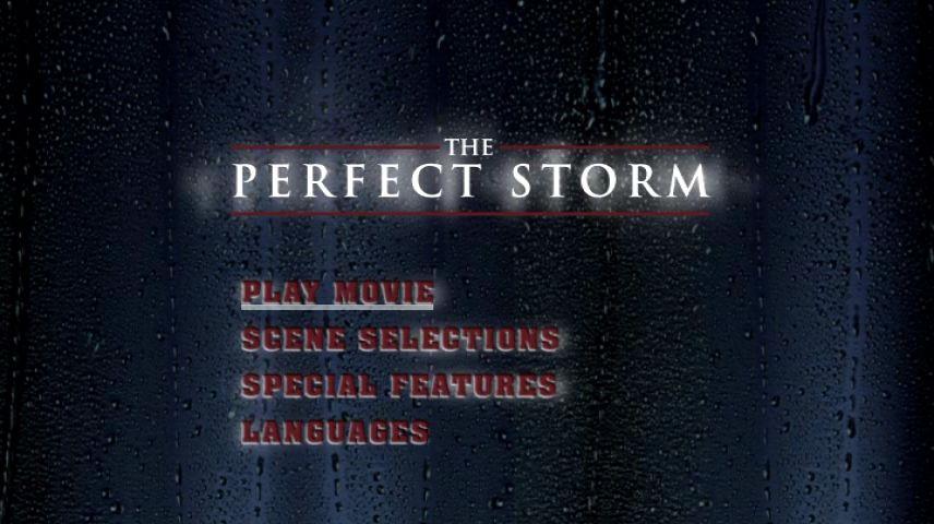 The Perfect Storm 2000 Dvd Menu