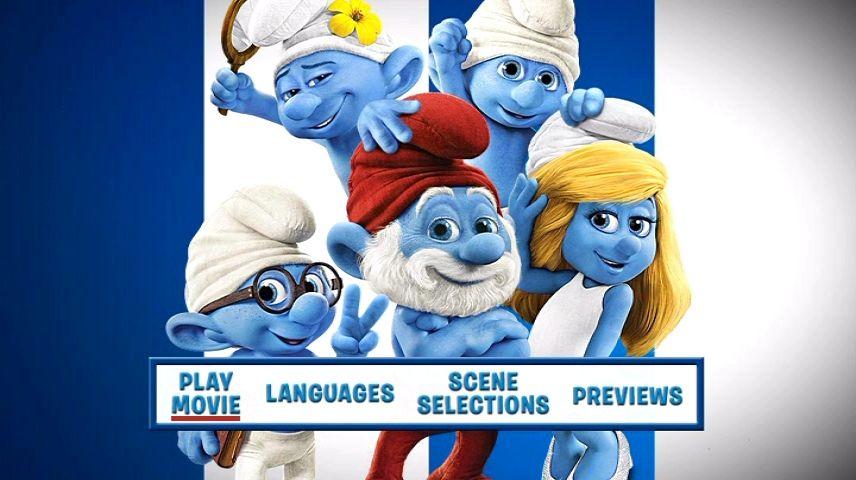 The Smurfs 2 2013 Dvd Menu
