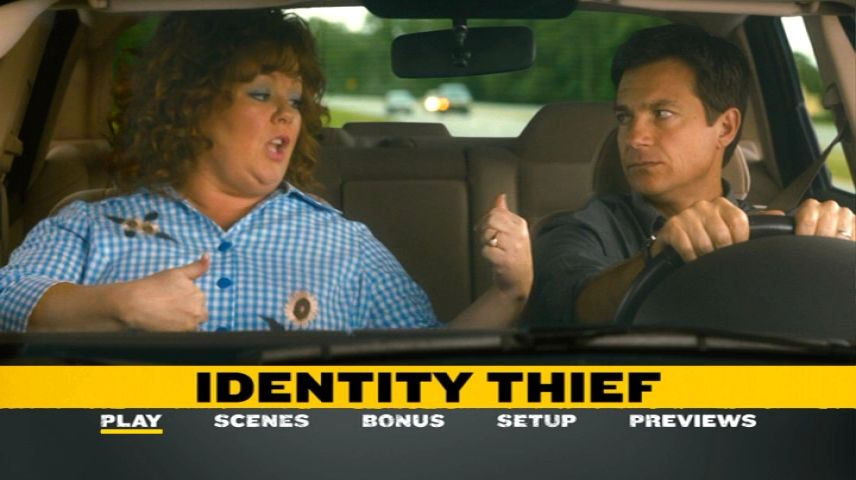 Identity Thief 2013 Dvd Menu