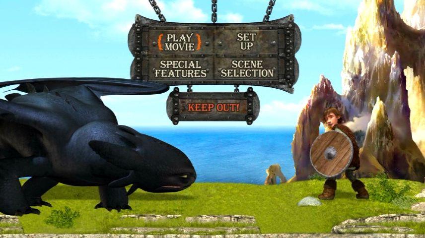 How To Train Your Dragon 2010 Dvd Menu