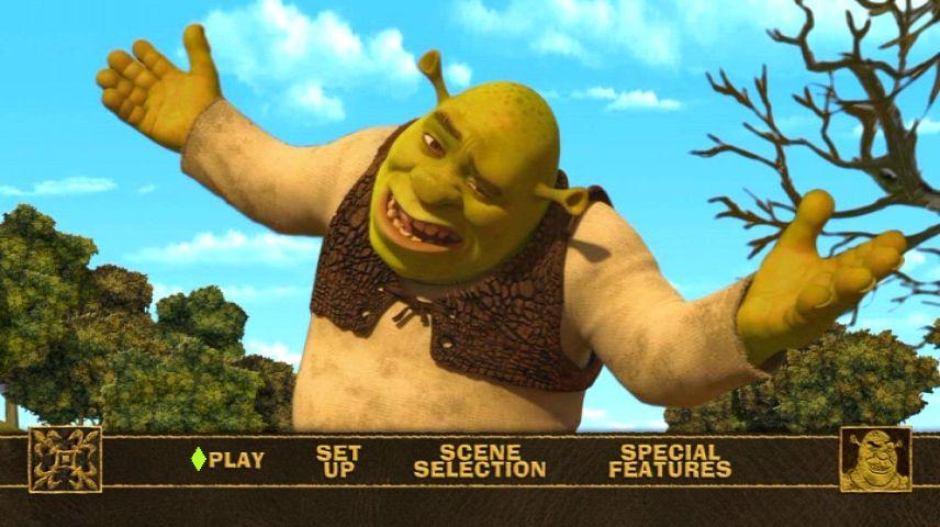 Shrek Forever After 2010 Dvd Menu
