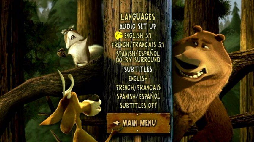 Open Season 2006 Dvd Menu