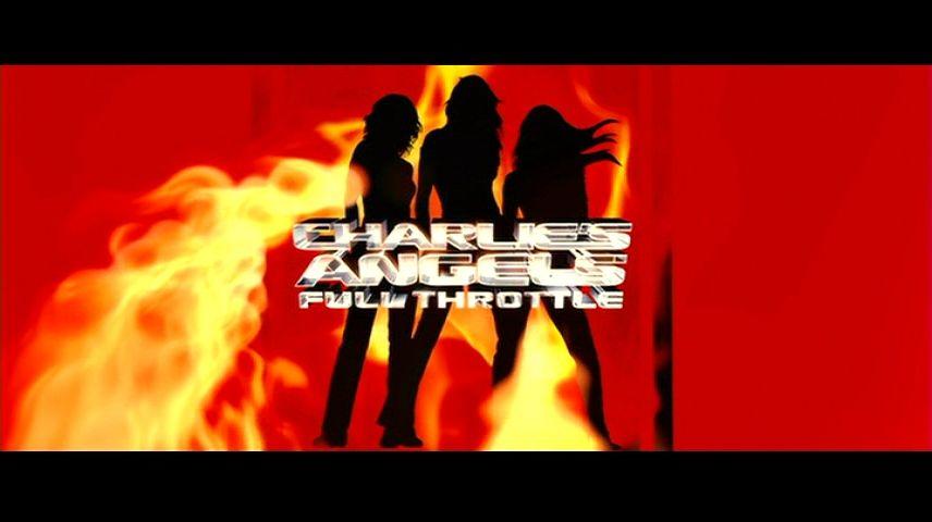 Charlie S Angels Full Throttle 2003 Dvd Menu