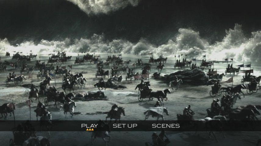 Exodus Gods And Kings 2014 Dvd Menu