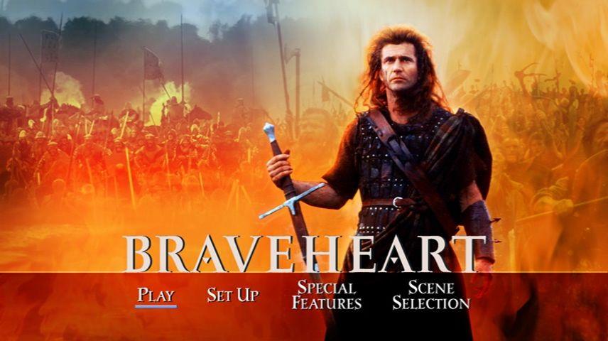 Braveheart 1995 Dvd Menu