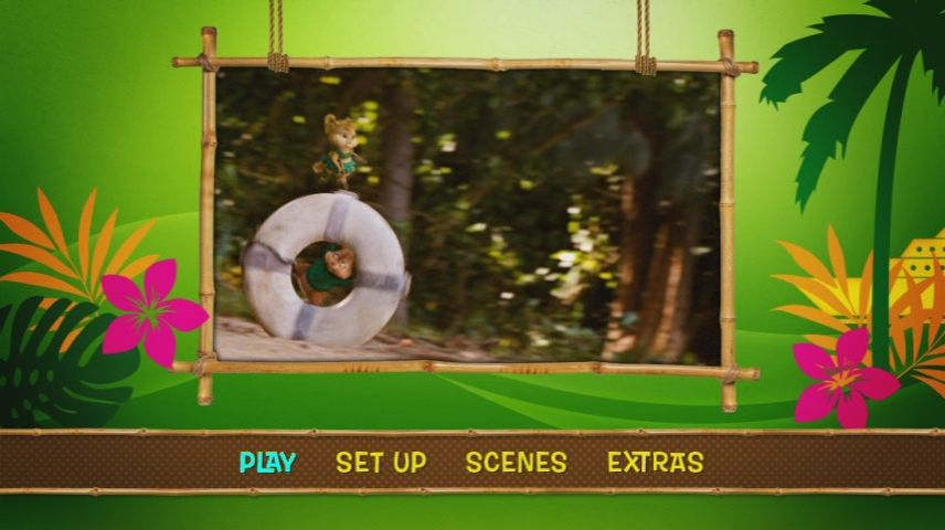 Alvin And The Chipmunks Chipwrecked 2011 Dvd Menu