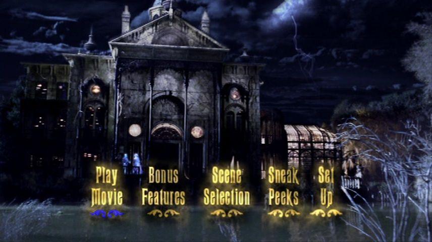 The Haunted Mansion 2003 Dvd Menu