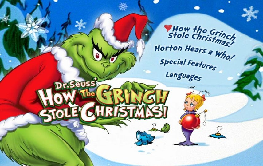 How The Grinch Stole Christmas 1966 Dvd.How The Grinch Stole Christmas 1966 Dvd Movie Menus
