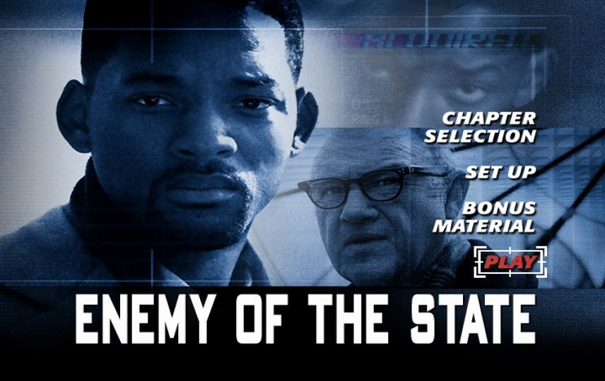Enemy Of The State 1998 Dvd Menu