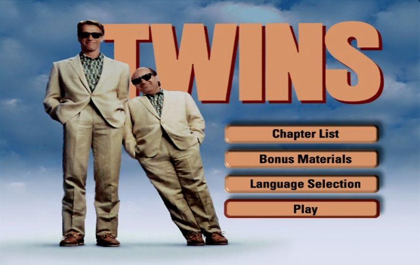 Twins 1988 Dvd Menu