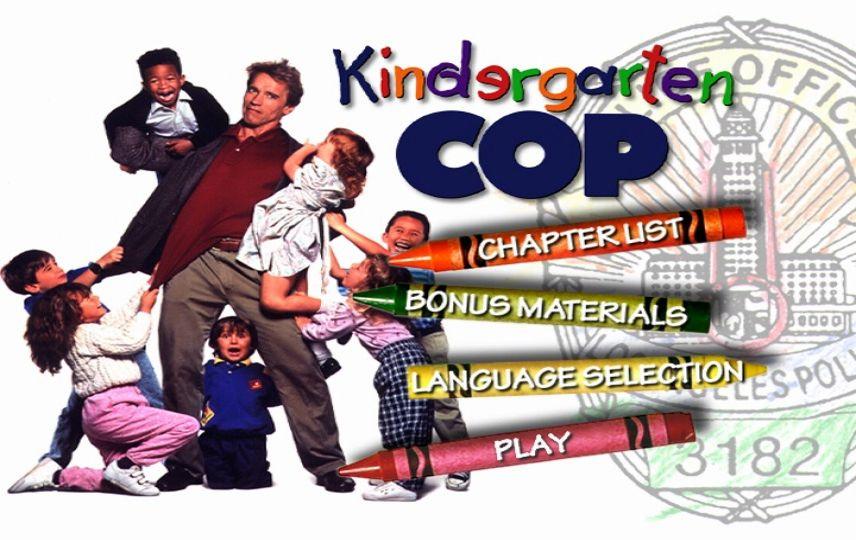 Kindergarten Cop 1990 Dvd Menu