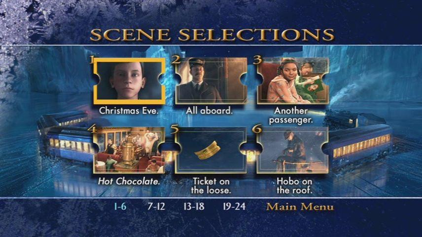 The Polar Express 2004 Dvd Menu