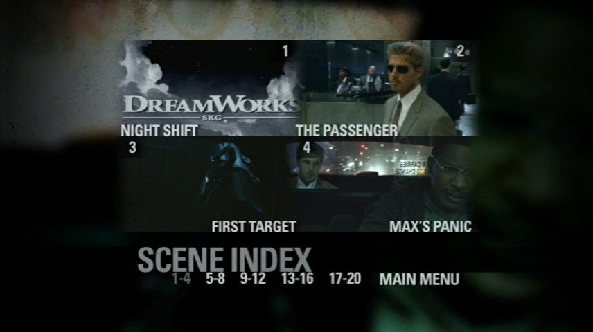 Collateral 2004 Dvd Menu