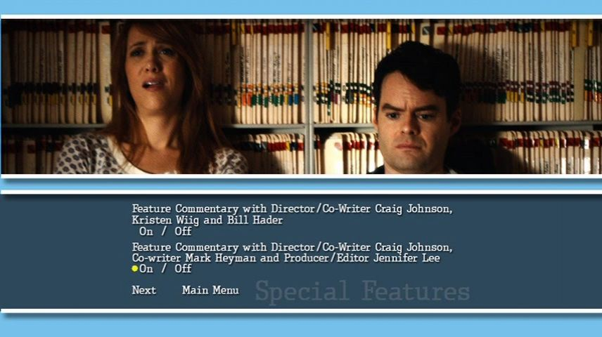 The Skeleton Twins (2014) DVD Menu