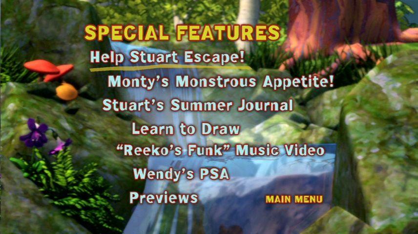 Stuart Little 3 Call Of The Wild 2005 Dvd Menu