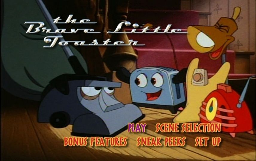 The Brave Little Toaster 1987 Dvd Menu