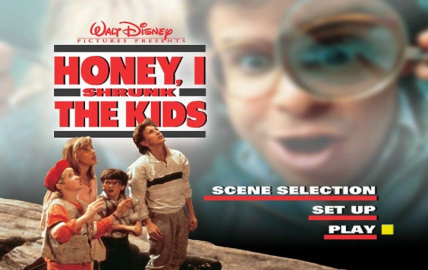 Honey I Shrunk The Kids 1989 Dvd Menu