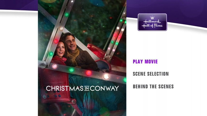 Christmas In Conway.Christmas In Conway 2013 Dvd Movie Menus