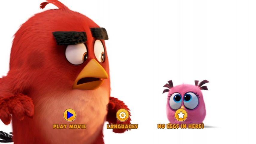The Angry Birds Movie 2016 Dvd Menu