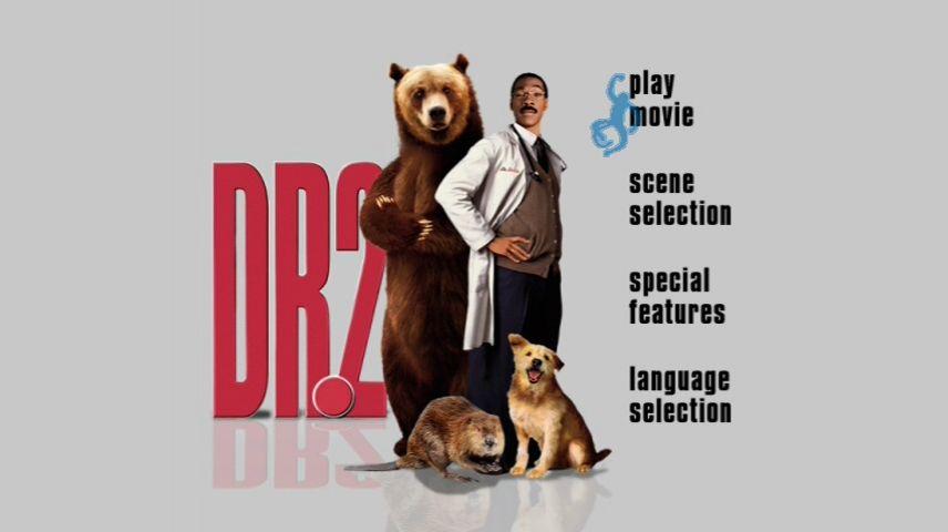 Dr Dolittle 2 2001 Dvd Menu