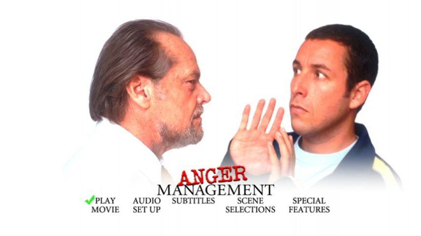 Anger Management 2003 Dvd Menu