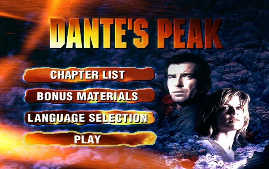 Dante S Peak 1997 Dvd Menu
