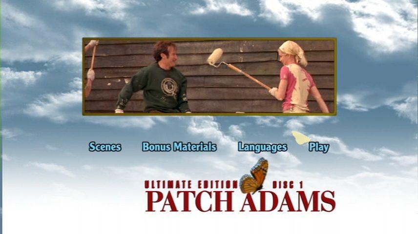 Patch Adams 1998 Dvd Menu