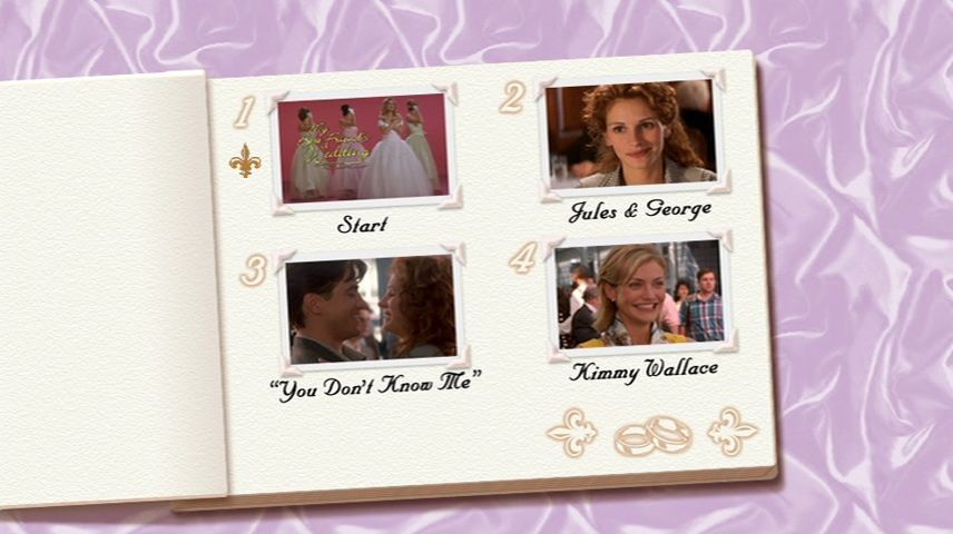 My Best Friend S Wedding 1997 Dvd Menu