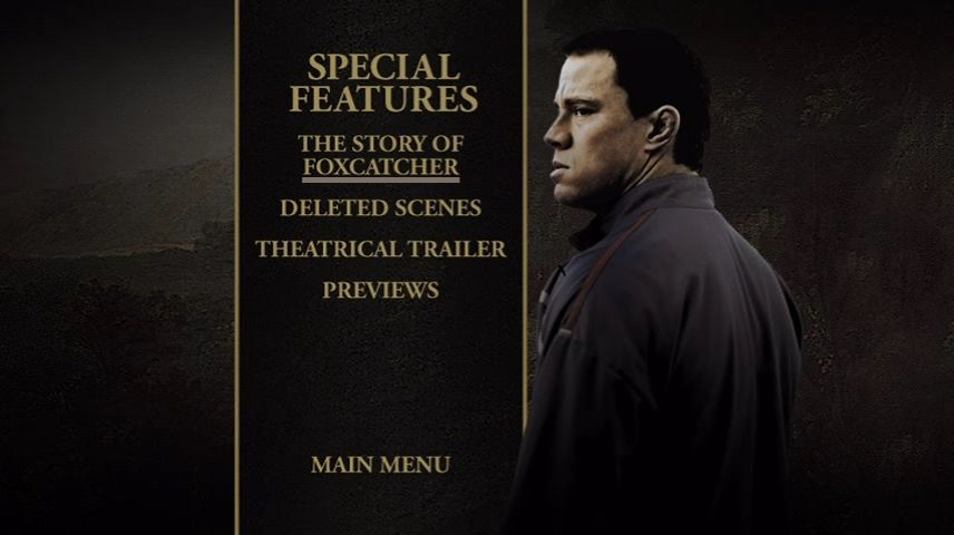 Special Features Menu