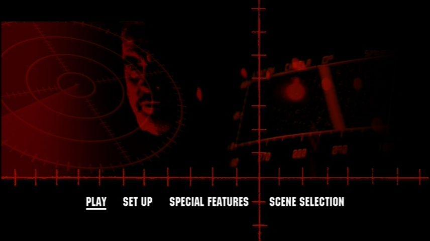 The Hunt For Red October 1990 Dvd Menu