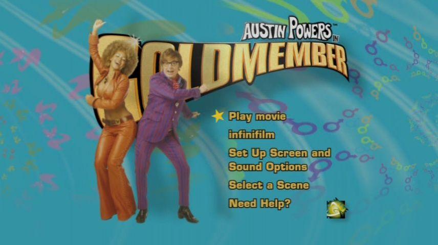 Austin Powers In Goldmember 2002 Dvd Menu