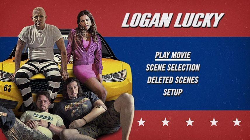 Logan Lucky 2017 Dvd Menu