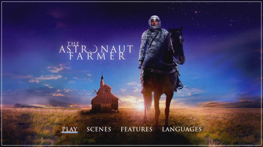 The Astronaut Farmer (2006) DVD Menu
