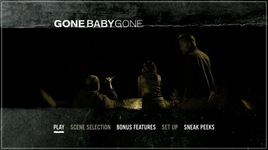 Gone Baby Gone (2007) DVD Menu