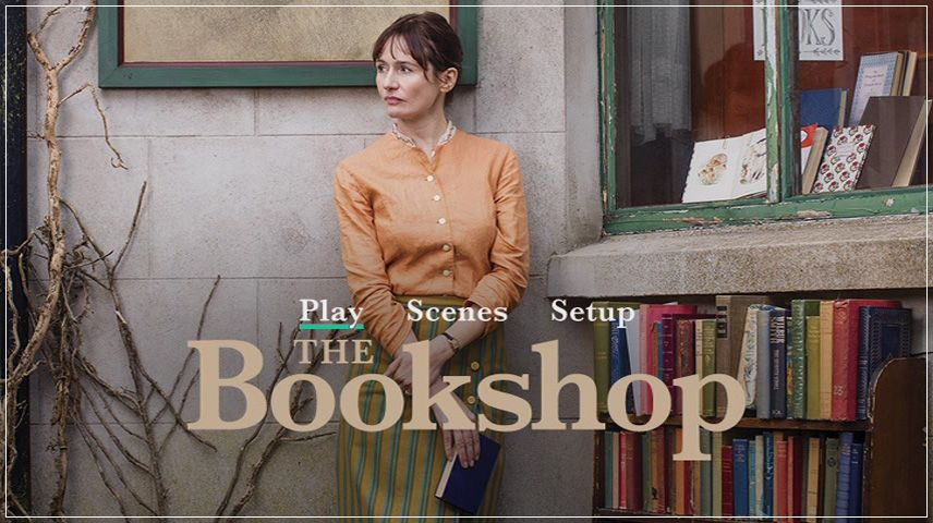 The Bookshop (2017) DVD Menu