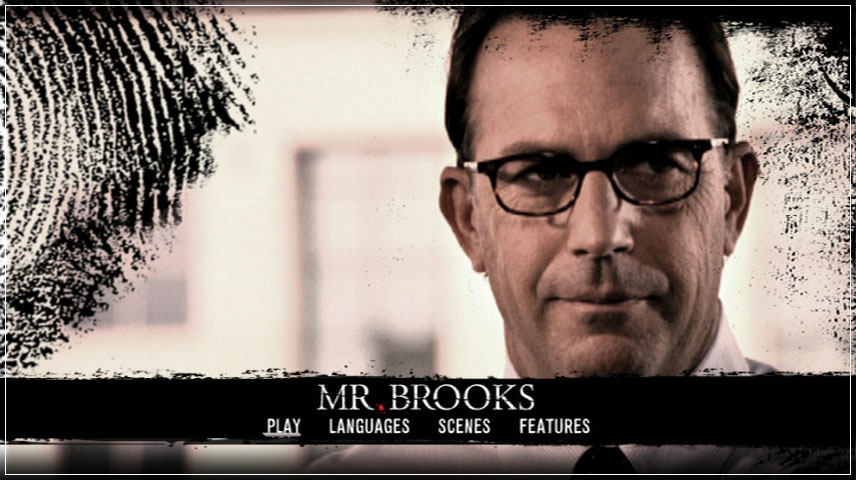 Mr. Brooks (2007) DVD Menu