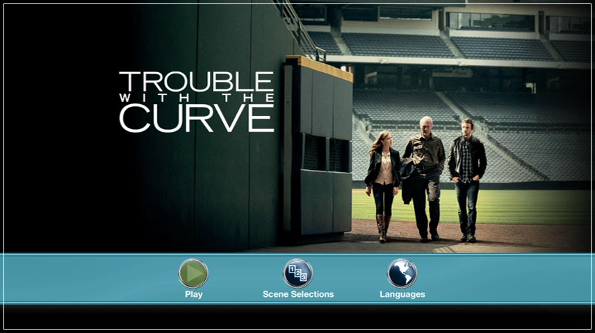 Trouble with the Curve (2012) DVD Menu