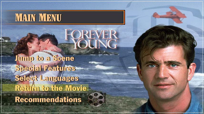 Forever Young (1992) DVD Menu
