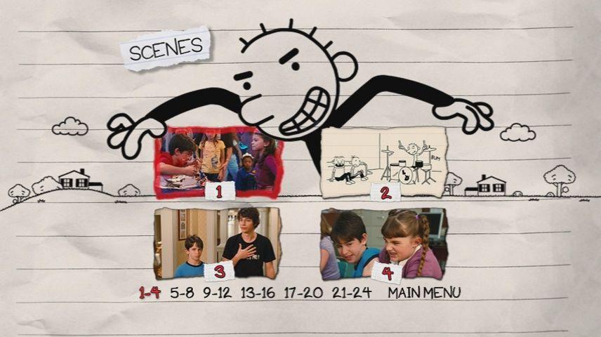 Diary Of A Wimpy Kid Rodrick Rules 2011 Dvd Menu