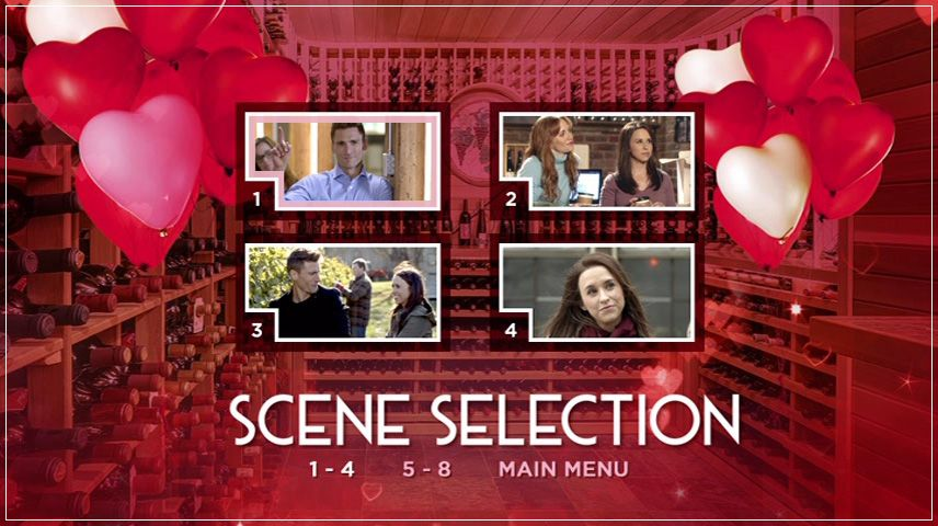 My Secret Valentine (2018) DVD Menu