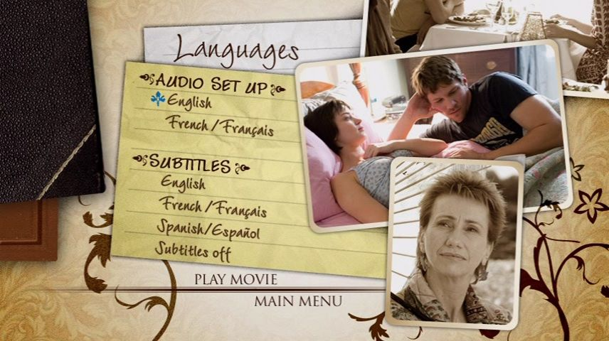 The Jane Austen Book Club (2007) DVD Menu