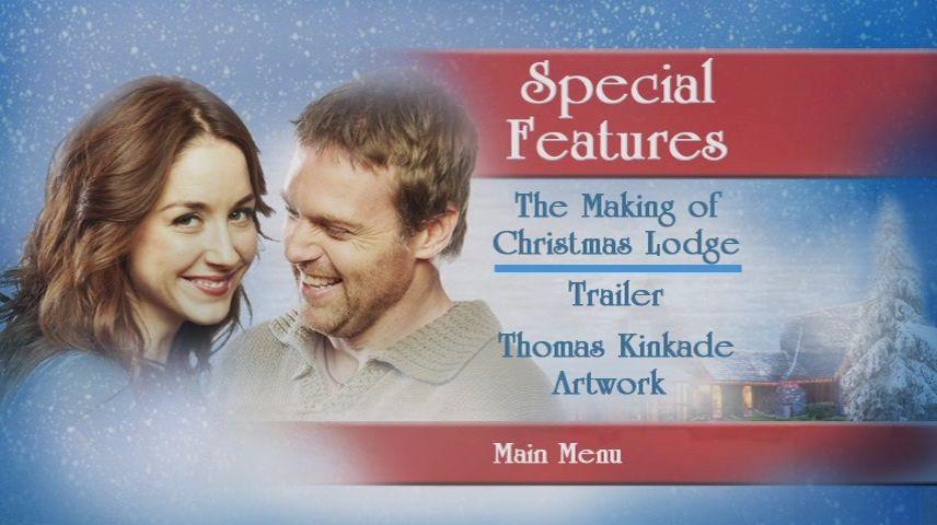 The Christmas Lodge.Christmas Lodge 2011 Dvd Movie Menus