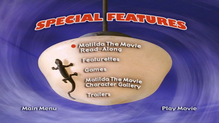 Privacy Policy >> Matilda (1996) - DVD Movie Menus