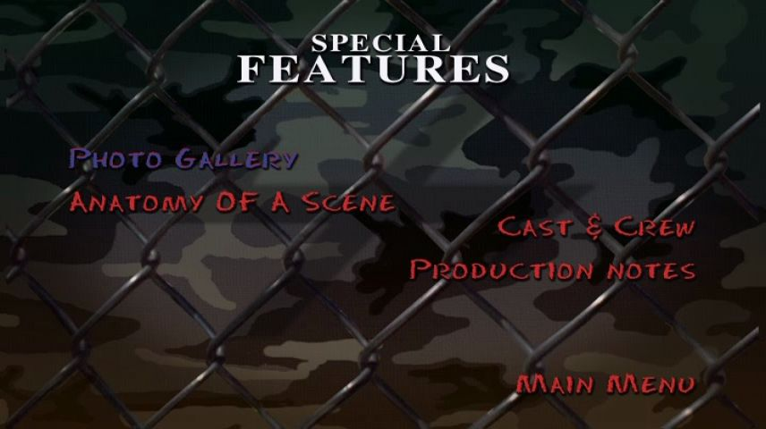 The Substitute 4: Failure Is Not an Option (2001) DVD Menu